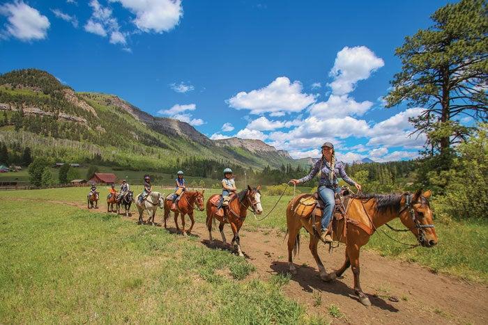 Horse Trail Ride in Durango
