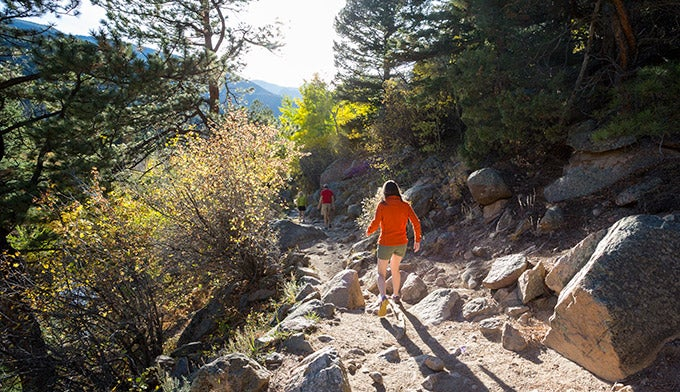 Hiking Fern Lake Trail in Rocky Mountain National Park