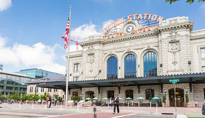 Union Station in Denver, Colo.
