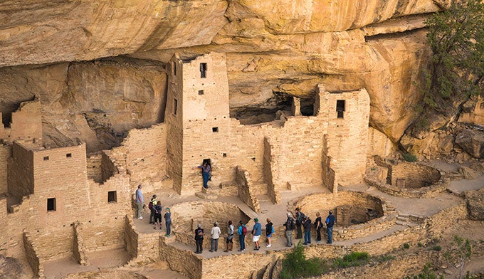 Cliff Palace Tour at Mesa Verde National Park