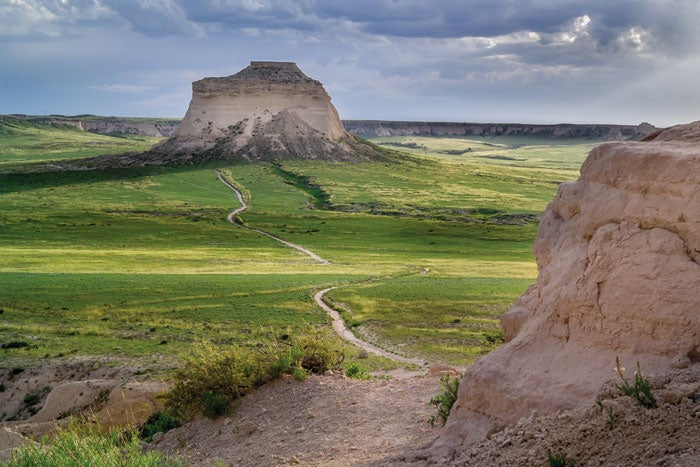 Pawnee Buttes National Grassland near Fort Morgan in Morgan County