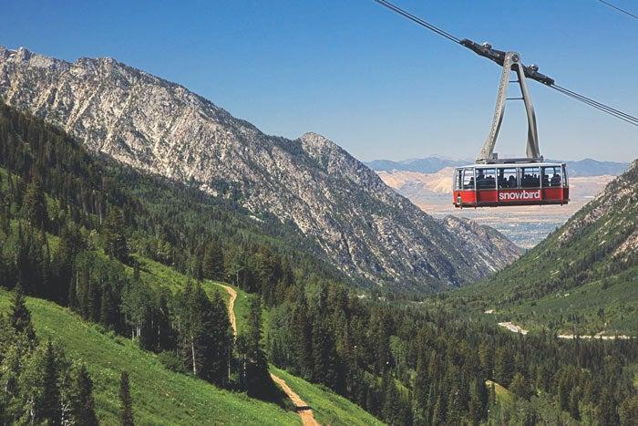 Salt Lake City's Snowbird Tram
